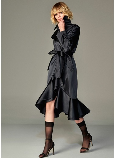 Beymen Collection Pardesü Siyah